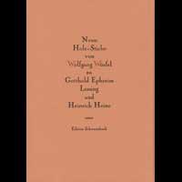 Neun Holzstiche von Wolfgang Würfel